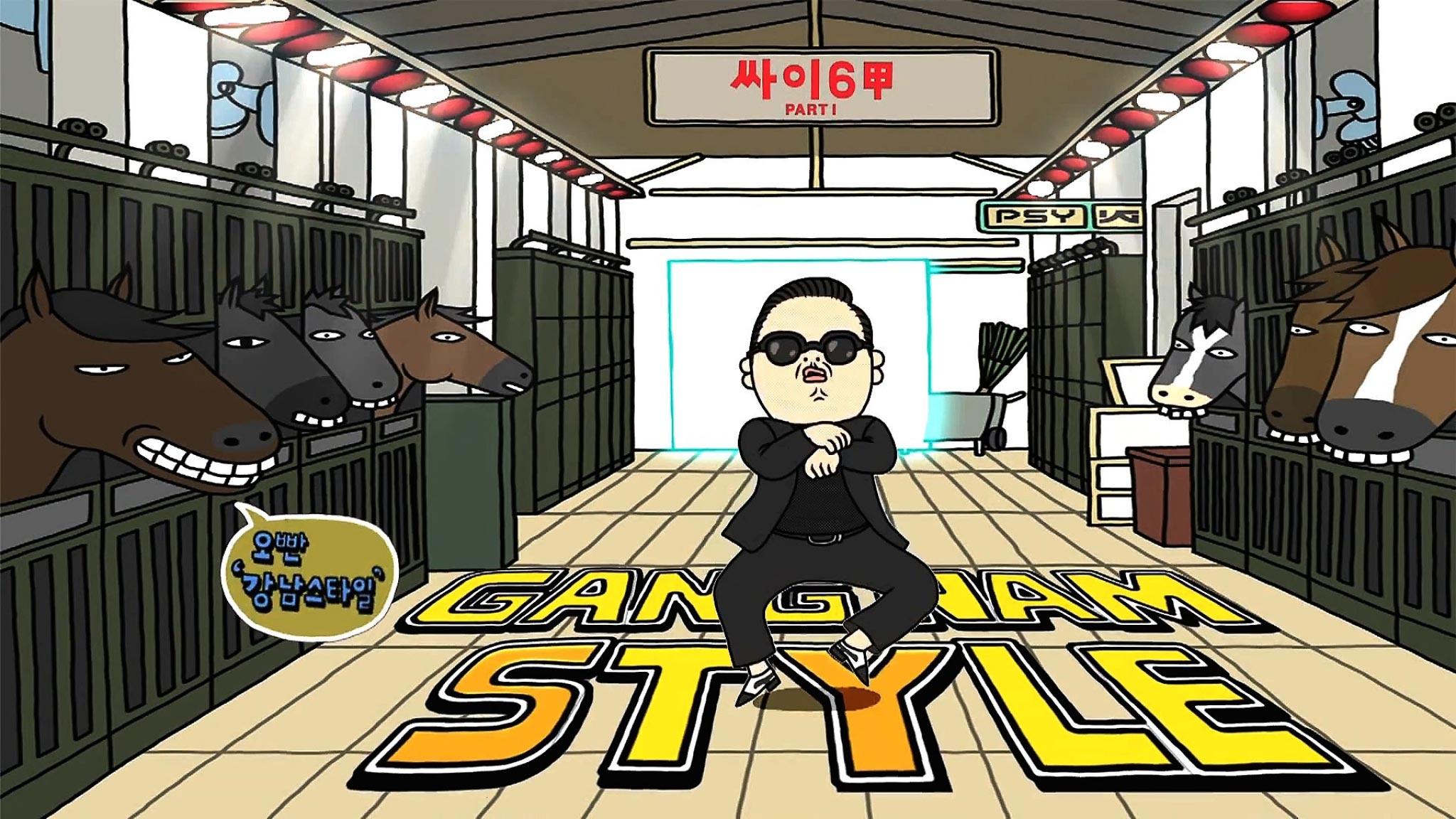 viral gangnam style