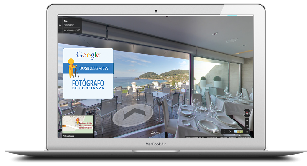 mac google busines view