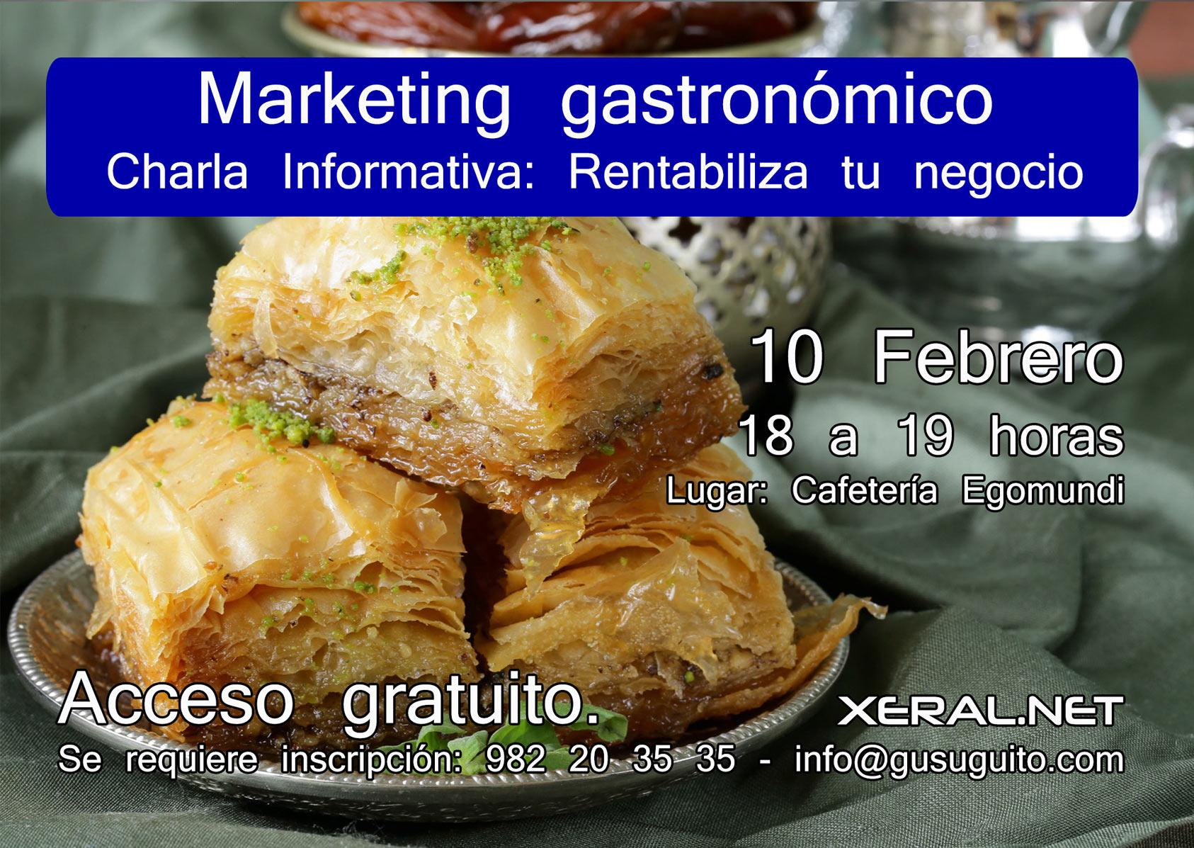 Marketing Gastronómico rentabiliza tu negocio