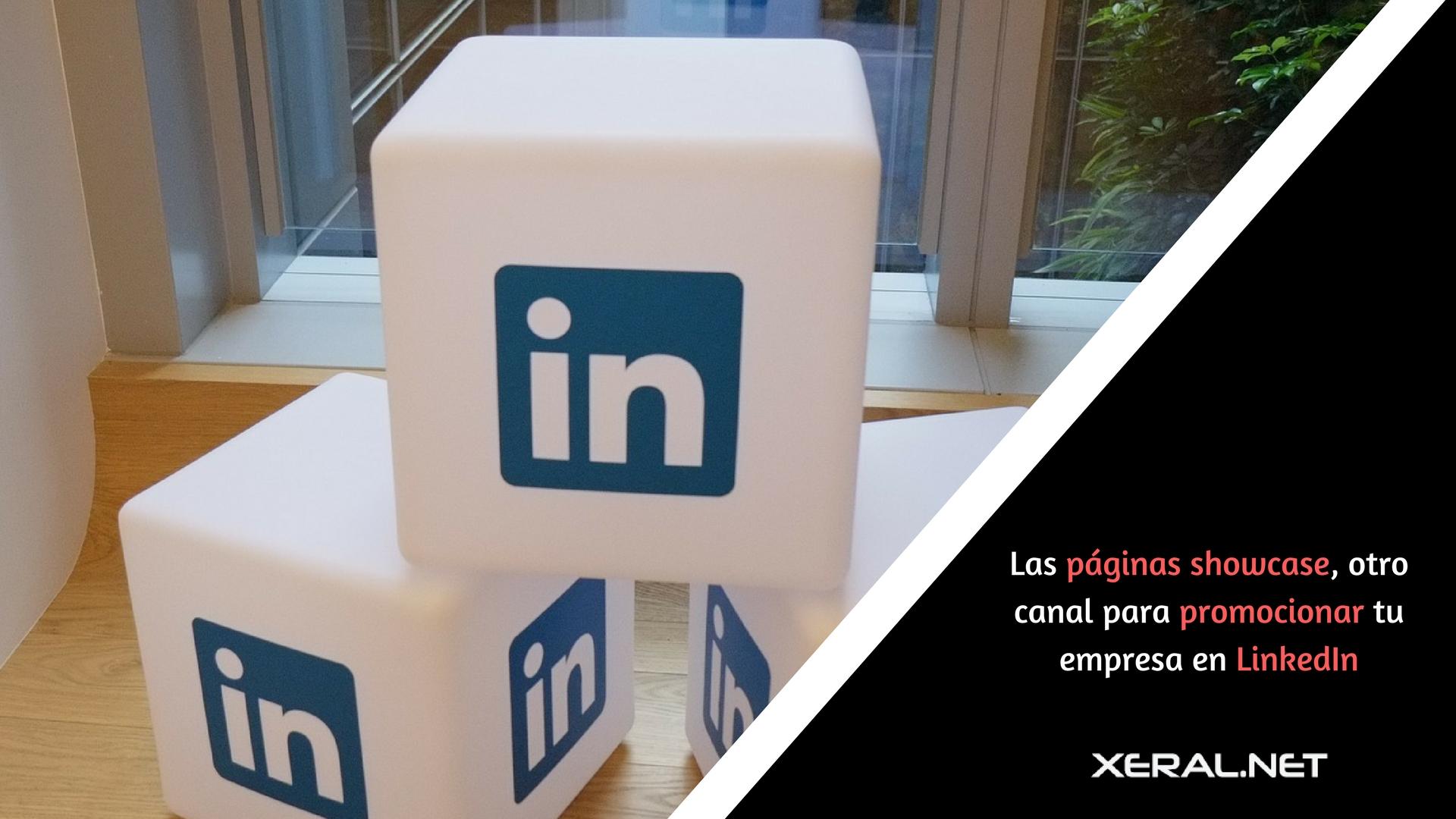 las páginas showcase otro canal para promocionar tu empresa en LinkedIn