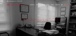 web corporativa de foro avogados diseñada por xeral.net