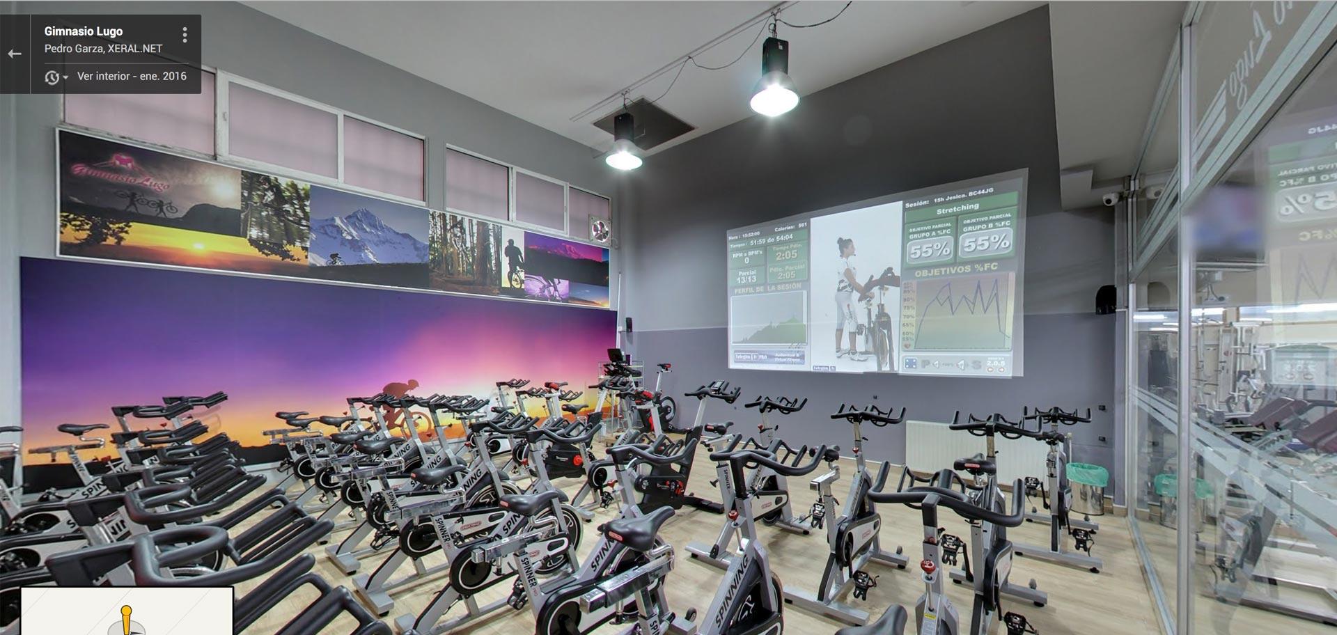 gimnasio en lugo visita virtual por xeral.net
