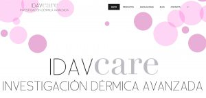 web corporativa de idav-care Lugo diseñada por xeral.net