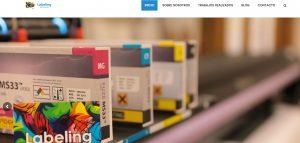 web corporativa de labeling diseño de xeral.net