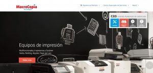web corporativa de macrocopia xeral.net