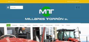web corporativa de millarestorron diseño xeral.net