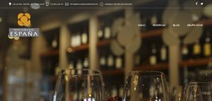 web corporativa de restaurante españa en Lugo