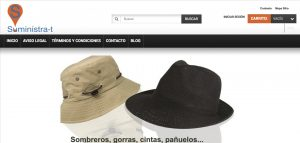 web de suministrate tienda online en xeral.net