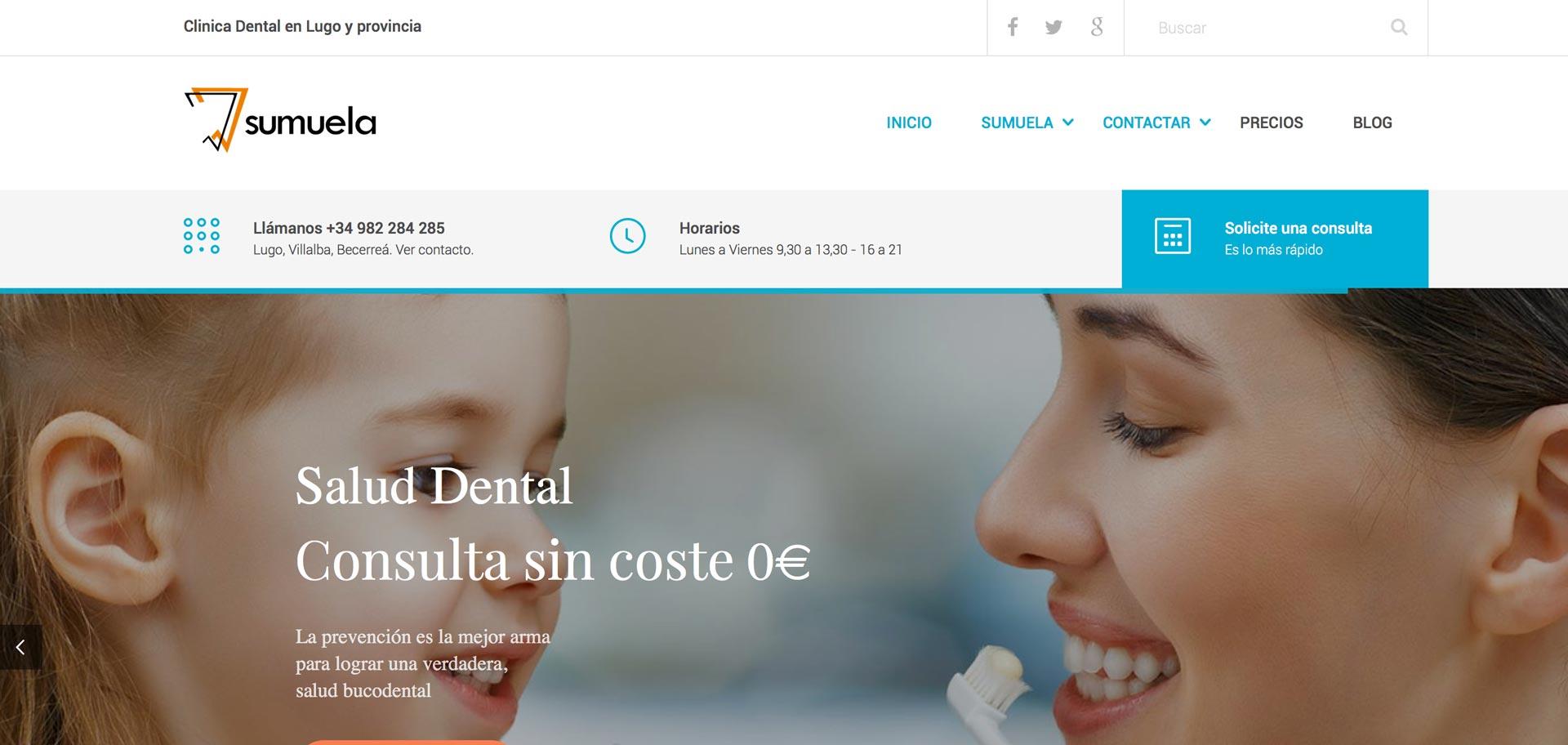 web corporativa de sumuela xeral.net