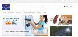 web de tienda maferca tienda online en Lugo por xeral.net