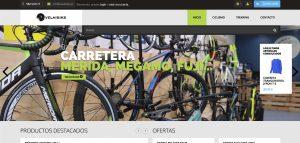 web corporativa de velaibike diseñada por xeral.net