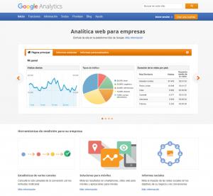 Analitica web para empresas Google Analytics en Lugo y Galicia xeral.net